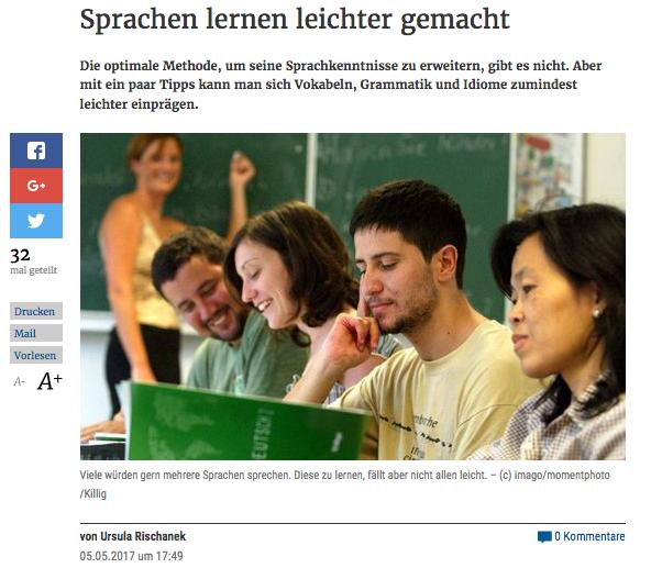 DIE Presse - Sprachen lernen leichter gemacht
