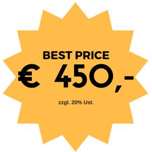 € 450,-